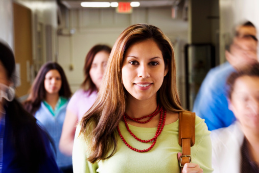 Hispanic Female Grants at University